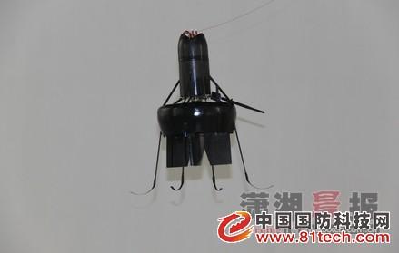 国防科大研发新型救灾小型无人机