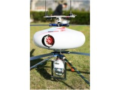 小型反向双旋翼无人直升机