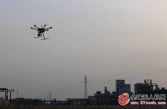 山东环境首次使用无人机开展环境监察