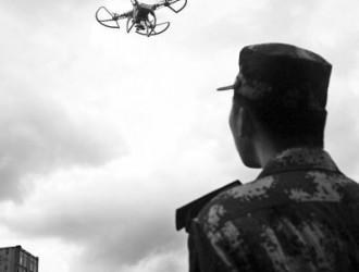 鹰眼科技弹射型固定翼无人机