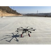 天翼电力多旋翼架线无人机