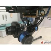 多旋翼无人机红外数字图像记录系统