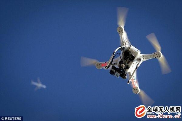 无人机闯入飞机路径 美航客机降落前遇险情