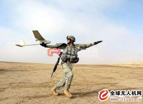 """几款注明的军用无人机规格性能详解-RQ-11B""""渡鸦""""小型无人机(AeroVironment公司)"""
