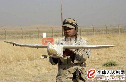 """几款注明的军用无人机规格性能详解-""""黄蜂3""""(WaspIII)微型无人机(AeroVironment公司)"""