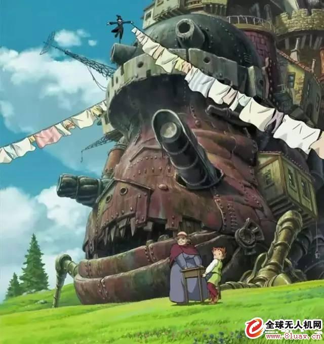 宫崎骏动画与VR的完美结合 看完简直惊呆了!