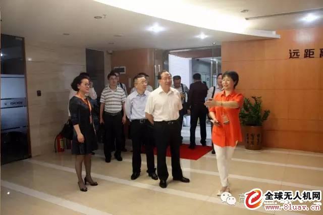 衢州市领导考察高科新农总部鼓劲暖心