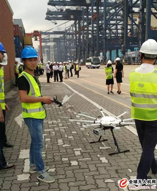 环保部长陈吉宁、深圳市长许勤见证智航用无人机进行环境监测