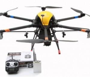 天途M8A農用多旋翼植保無人機載重10kg