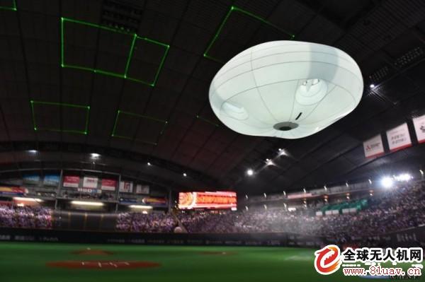 日本松下公司展示全新无人机系统Ballooncam