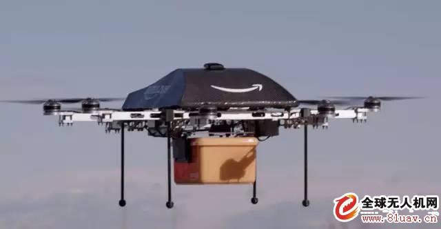 美国管理太严 亚马逊送货无人机首次登陆英国