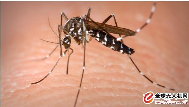 美国南达科他州使用无人机灭蚊