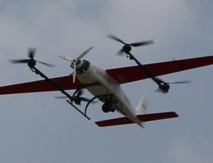 自主研发、生产复合翼垂直起降无人机