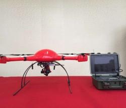 夜枭 1四旋翼警用无人机系统