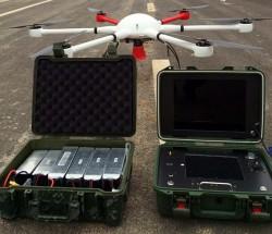 富沃德光電六旋翼無人機巡檢系統