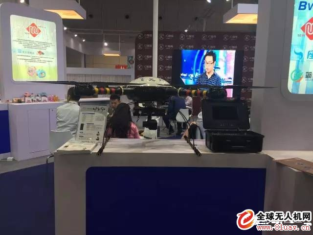 幻飞环保无人机亮相中国十八届工博会