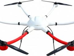 六轴 多旋翼碳纤维机架 机臂上扬结