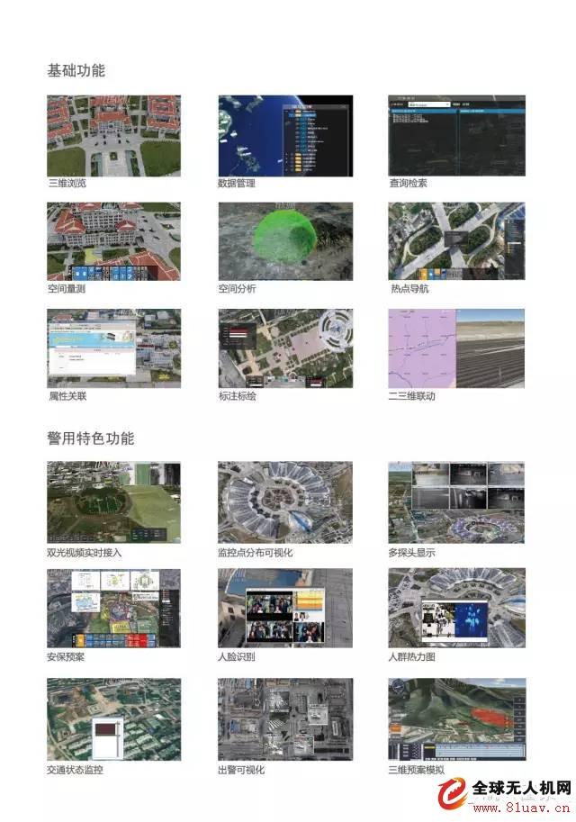 航天图景地市级公安局无人机警务应用系统