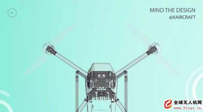 谁说四旋翼无人机只能是中心对称正方形的?