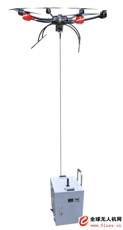 科卫泰 TMOP-100系留无人机平台续航时间8h任务载重5kg