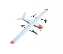 倾斜摄影系统青龙QX5垂直起降固定翼无人机