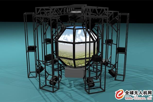 美国Esterline仿真视景系统公司360度视景军用模拟训练系统