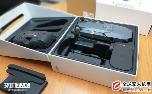 大疆Mavic pro无人机来了 全能套装开箱照简单评测