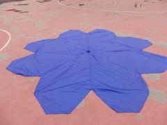 8-10kg载重无人机降落伞 回收伞十字