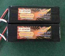 航模农业植保电池10000mah6S无人机锂电池22.2v