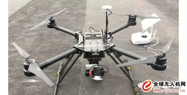多旋翼单相机倾斜摄影方案