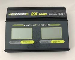CH2触摸式1-6S无人机内置电源平衡充电器2*100W