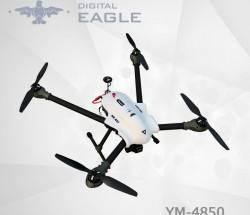 数字鹰YM-4850四轴警用无人机载重1公斤续航20分钟