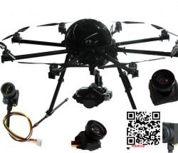 供应高灵敏度FPV航拍专用微型摄像头