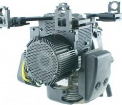 瑞深H2油電混合動力系統 多旋翼載重5kg時續航2小時