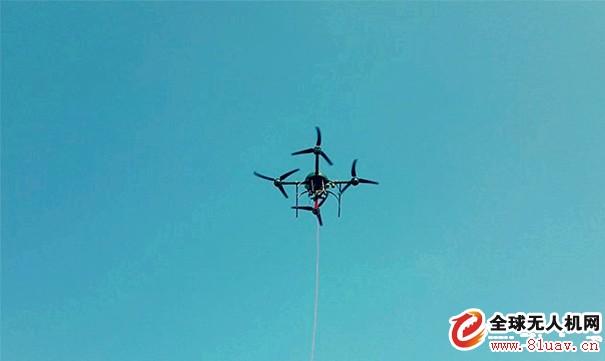 安尔康姆将携系留无人机md4-1000T参与四川航展