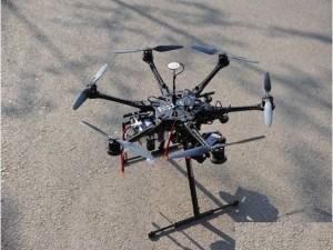 六旋翼航测无人机