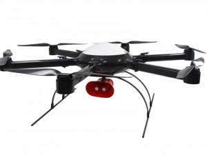 碳纤维无人机一体机架载重20kg