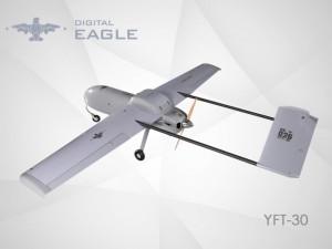 数字鹰YFT-30固定翼无人机续航力3小