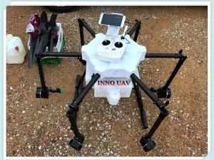 INNOUAV无人机15KG植保机六轴折叠喷