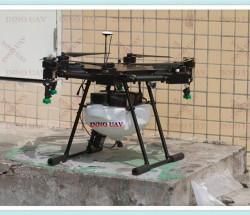 INNOUAV定制植保机10KG六轴无人机喷洒农药遥控飞机