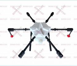 六轴横向折叠机架 碳纤无人机支架可负载10KG级无人机架