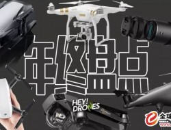 最值得推薦的無人機產品(2017年終盤點)
