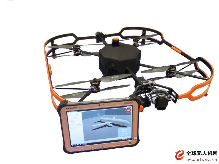 空客发布新型室内飞机检验无人机系