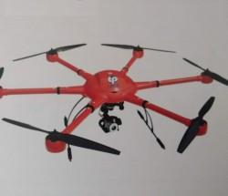 TP-H6-1600電力巡線專用六旋翼無人機