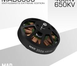 MAD輕量化多軸/旋翼盤式無刷電機 EEE愛好者級別3506
