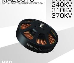 MAD轻量化多轴/旋翼盘式无刷电机 EEE爱好者级别5010