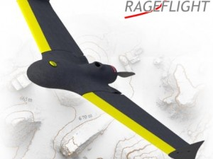 RageFlight RF-5m 固定翼测绘无人机