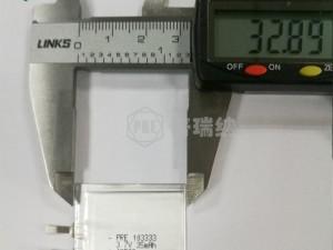 PRE聚合物锂电池超薄1mm
