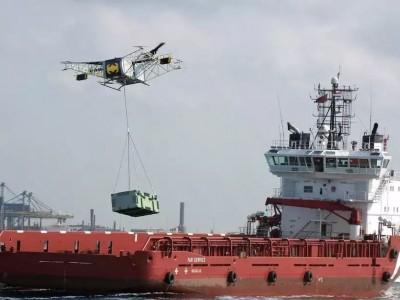 俄罗斯超大号的工业级别无人机SKYF,可直接运输集装箱!(后附参数)