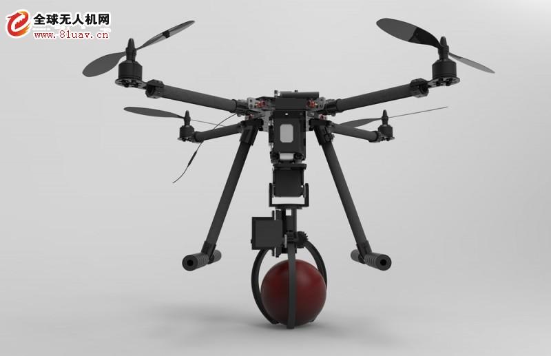 中航恒拓发布带机械抓手的教学无人机HT500D